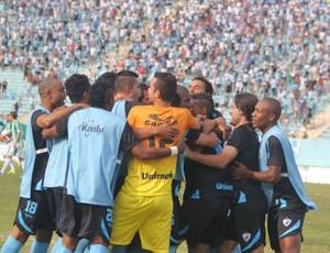 londrina comemora gol serie d (Foto: Robson Vilela/Site oficial do Londrina)