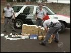 Mais de 160 quilos de maconha são apreendidos em Manduri