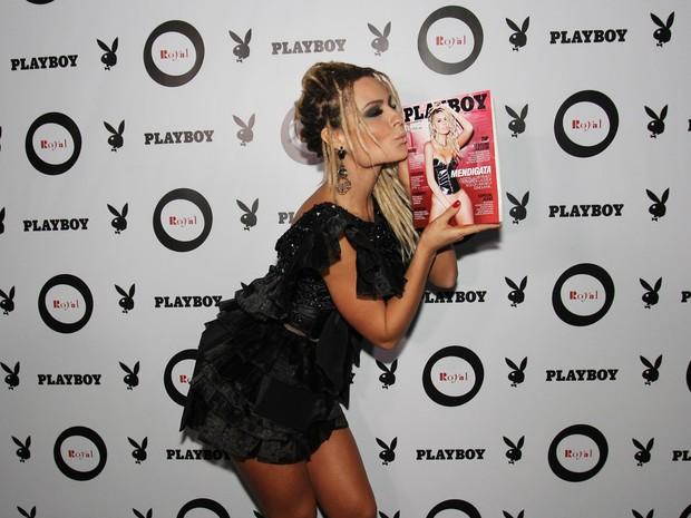 Fernanda Lacerda, a Mendigata, em festa em São Paulo (Foto: Celso Tavaes/ EGO)