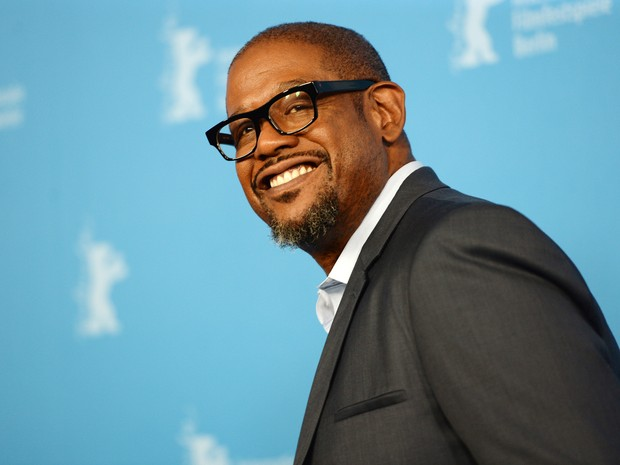 07/02: Forest Whitaker divulga o filme 'Two men in town' no Festival de Berlim 2014. (Foto: AFP PHOTO / PATRIK STOLLARZ)