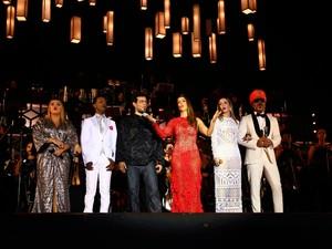 Ivete reúne convidados especiais em show beneficente (Foto: Pedro Moraes/GOVBA)