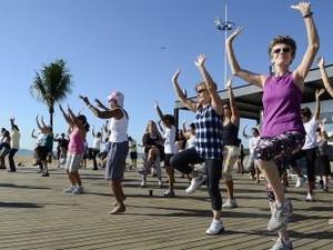 Pessoas poderão praticar atividades físicas com orientação durante o evento (Foto: Marcos Salles/ PMV)