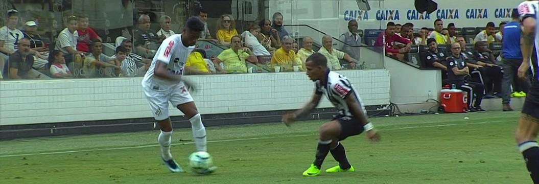 Santos x Atlético-MG - Campeonato Brasileiro 2017-2017 ... c8fed3513cea3