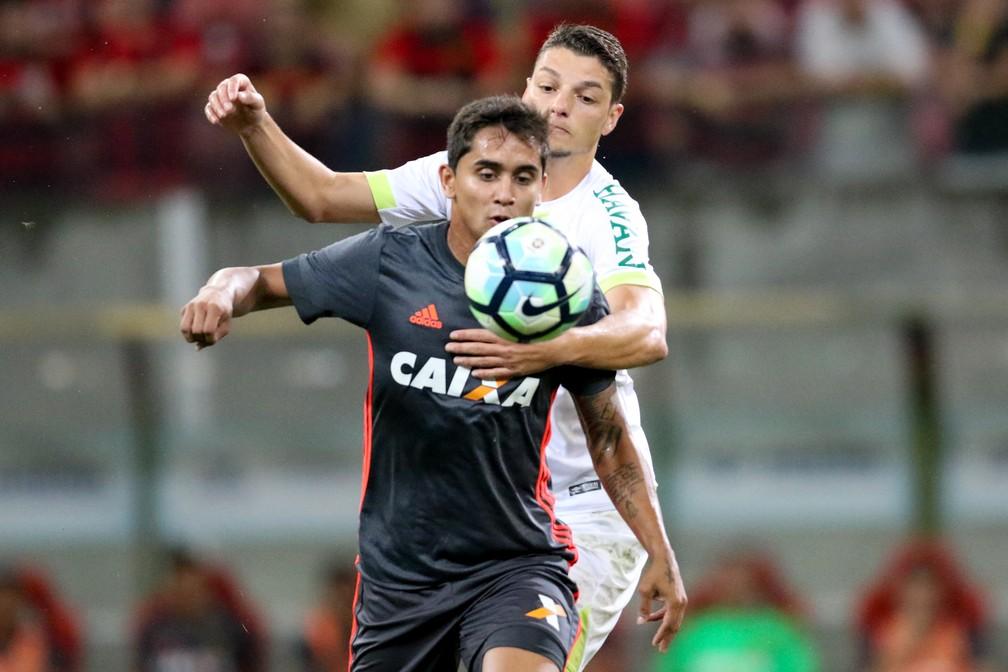 Sport x Chapecoense se encontraram na Arena de Pernambuco, pela Série A (Foto: Aldo Carneiro / Pernambuco Press)