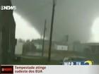 Veja flagrantes da destruição das tempestades nos EUA