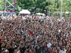 Com missa e shows, evento religioso reúne jovens em parque de Vinhedo