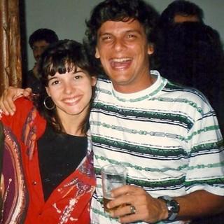 Glória Perez posta foto da filha, Daniela, com Duda Ribeiro (Foto: Instagram / Reprodução)