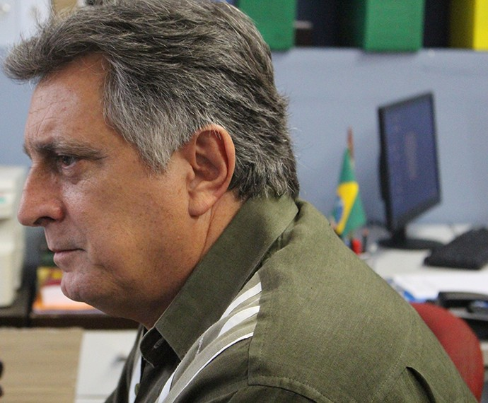 Jorge está tenso com a situação (Foto: Evellyn Pacheco/Gshow)