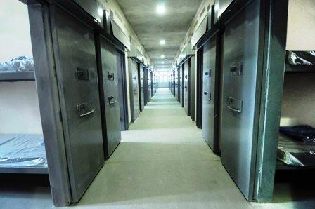 Prineira prisão privada do país (Foto: Divulgação/SEDS)