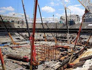 obras Arena Palmeiras (Foto: Agência Estado)