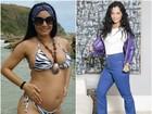 Mônica Carvalho seca 14kg após gravidez: 'Estou quase com peso ideal'