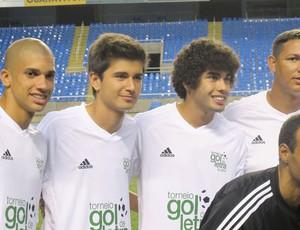 Dória, Mattheus e Bruno Mendes (Foto: Thales Soares / Globoesporte.com)