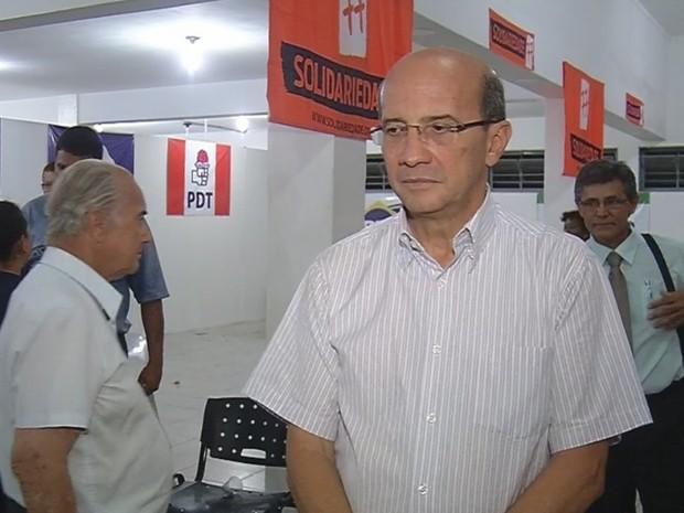 Dado foi eleito prefeito em Votuporanga (Foto: Reprodução / TV TEM)