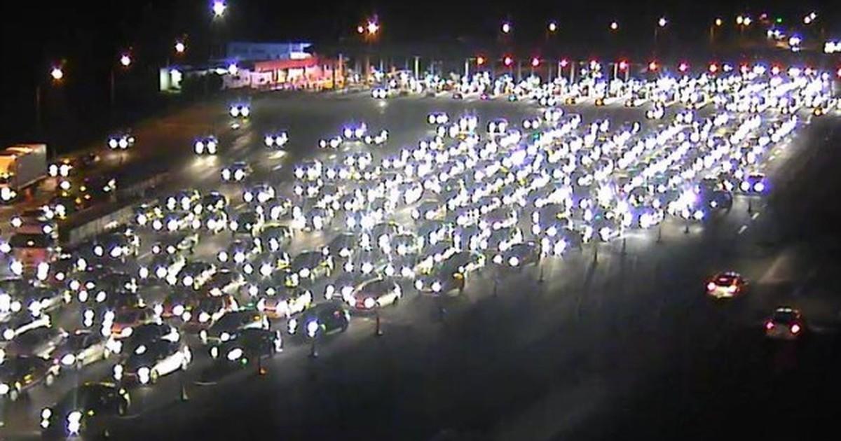 Mais de 51 mil veículos passaram pela freeway rumo ao litoral do RS - Globo.com