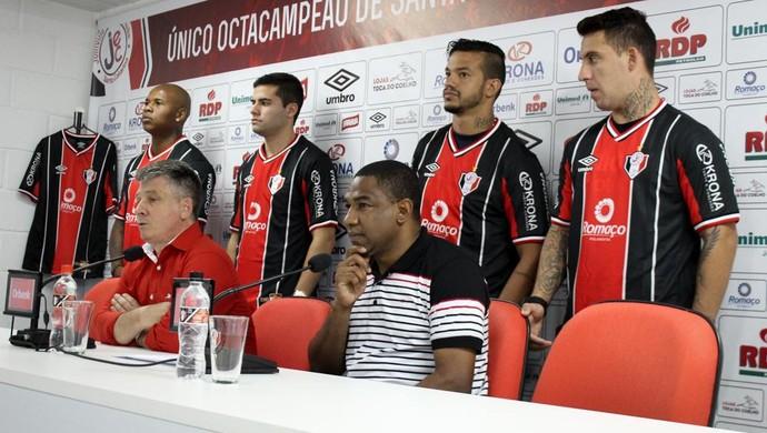 Joinville apresentação (Foto: Gabriel Fronzi/Divulgação)