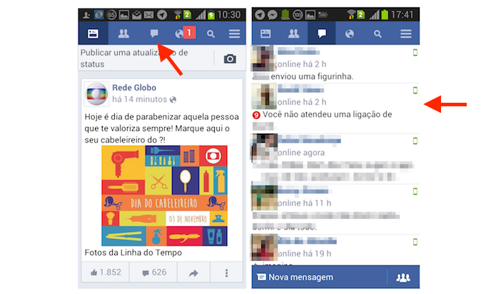 Como Apagar Fotos Do Face: Como Excluir Uma Conversa No Facebook Lite Para Android