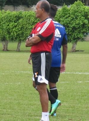 Jayme de Almeida treino Flamengo Thales Soares (Foto: Thales Soares)