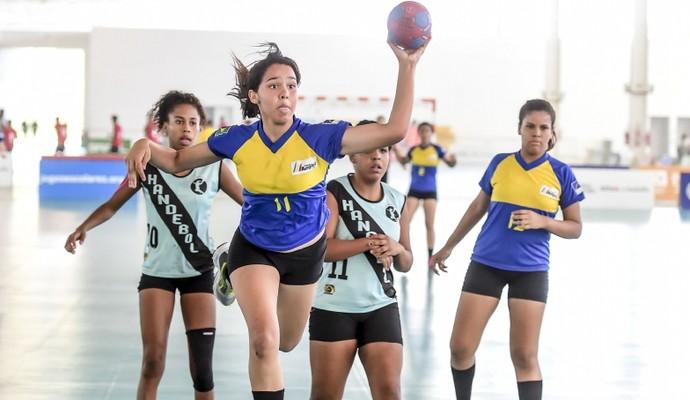 Handebol dos Jogos Escolares, em João Pessoa (Foto: Wander Roberto/Exemplus/COB)