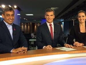 Sebastião Melo (PMDB) concedeu entrevista ao RBS Notícias (Foto: Fabiana Bonugli/G1)