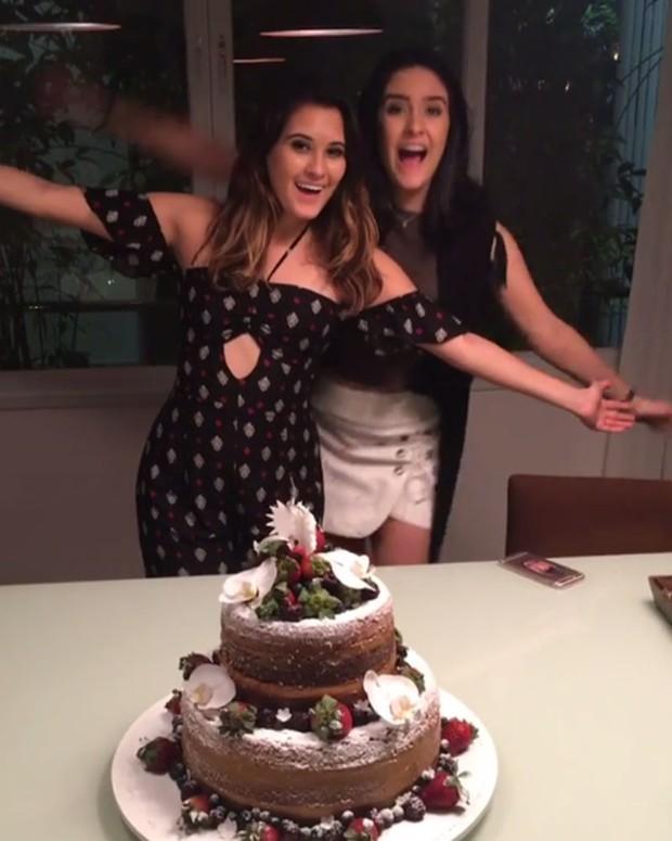 Beatriz Bonner e Laura Bonner comemoram aniversário (Foto: Instagram/ Reprodução)