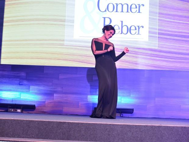 Giovanna Antonelli em prêmio no Rio (Foto: André Muzell/ Ag. News)