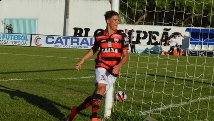 Crac x Atlético-GO no Genervino da Fonseca - João Pedro (Foto: Comunicação/Atlético-GO)