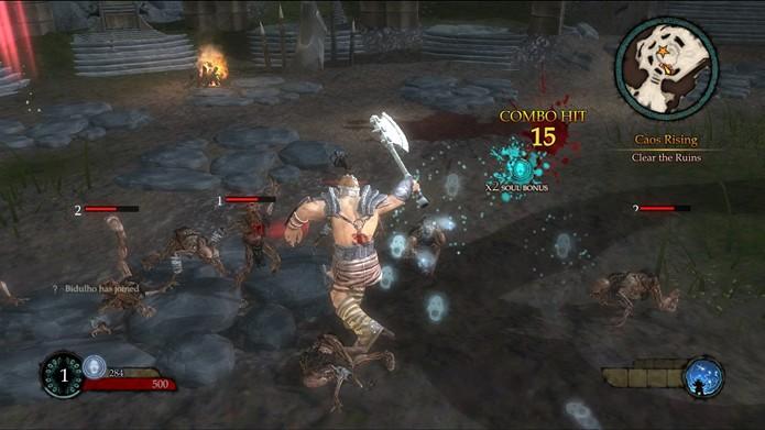 As missões iniciais do game ensinam ao jogador os principais controles e a dinâmica das batalhas (Foto: Reprodução/Daniel Ribeiro)