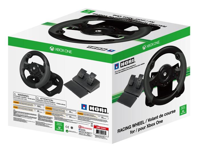 Volante da Hori funciona apenas com os Need For Speed para Xbox One (Foto: Divulgação/Hori)