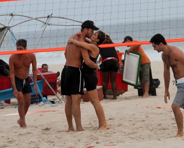 Rodrigo Hilbert e Fernanda Lima (Foto: Wallace Barbosa/AgNews)