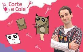 Corte e Cole: Fantoche de Papel