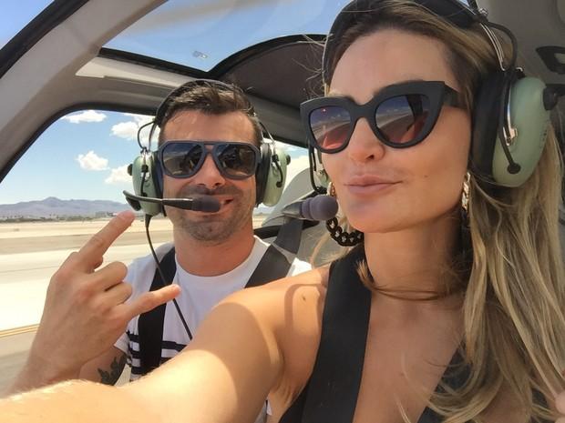 Laura Keller e o namorado, Jorge Sousa (Foto: Arquivo Pessoal)