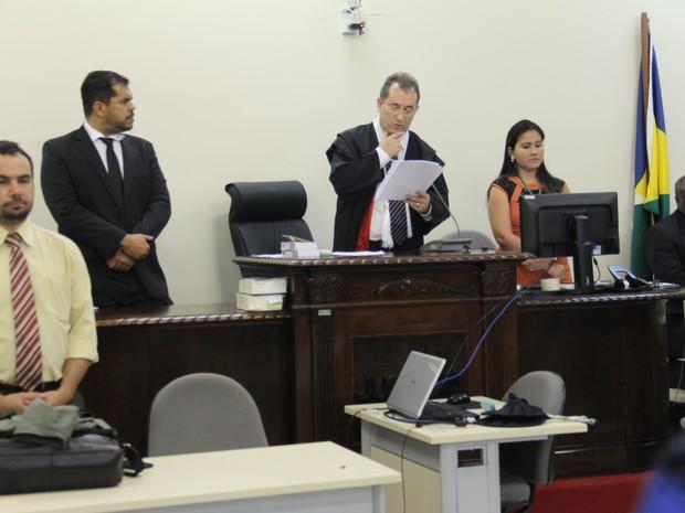 Julgamento Naiara Karine 2016, em Porto Velho, RO, terceiro dia (Foto: TJ-RO/Divulgação)