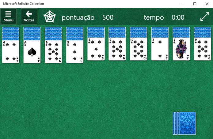 Jogo Paciência traz recursos que requerem compra do Premium (Foto: Reprodução/Paulo Alves)