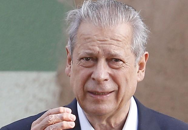 O ex-ministro José Dirceu, preso desde agosto de 2014 na Operação Lava Jato (Foto: Fotos Públicas)