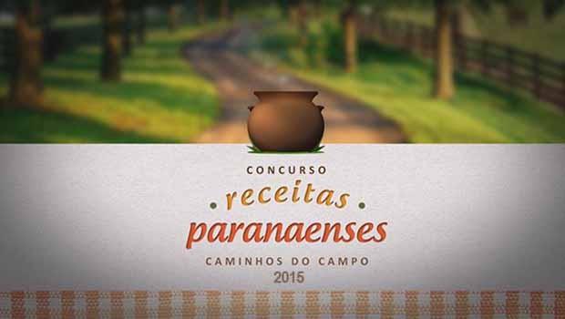 Faça sua inscrição para o Concurso de Receitas do Caminhos do Campo 2015 (Foto: Reprodução/RPC)