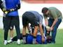 Tiago Cardoso dá susto, mas não preocupa para o jogo contra o Ceará