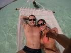 Mayra Cardi mostra álbum de fotos da lua de mel com o marido, Greto Guariz