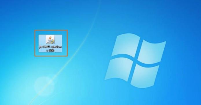 Abra o arquivo baixado do Java para iniciar a instalação (Foto: Reprodução/Barbara Mannara)