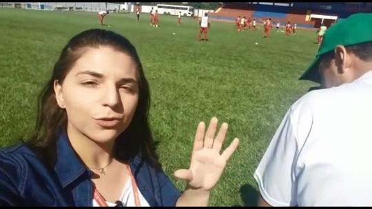 Cianorte treina no feriado de olho jogo contra o Londrina, no domingo