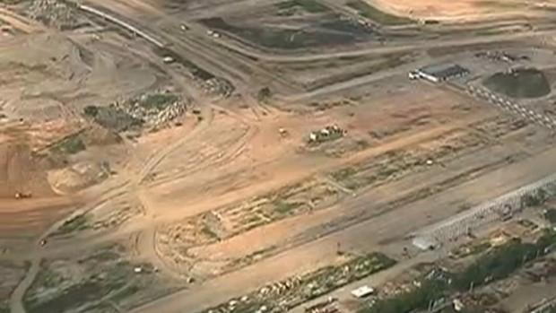 Terreno onde ficava o autódromo do Rio (Foto: Reprodução SporTV)