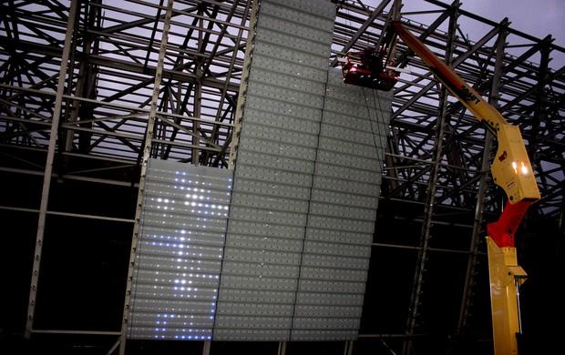 Telão Corinthians (Foto: Divulgação/Corinthians)