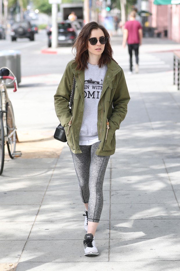 Lilly Collins (Foto: AKM Images)