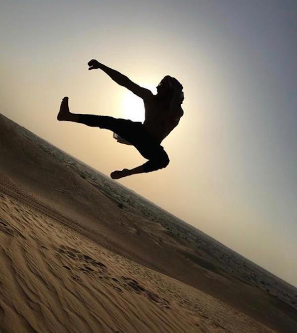 O ator Zac Efron (Foto: Instagram)
