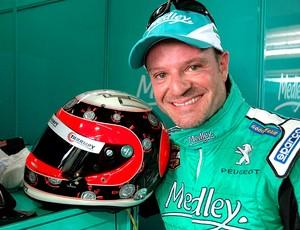 capacete Barrichello Stock Car Corinthians (Foto: Miguel Costa Jr. / Divulgação)