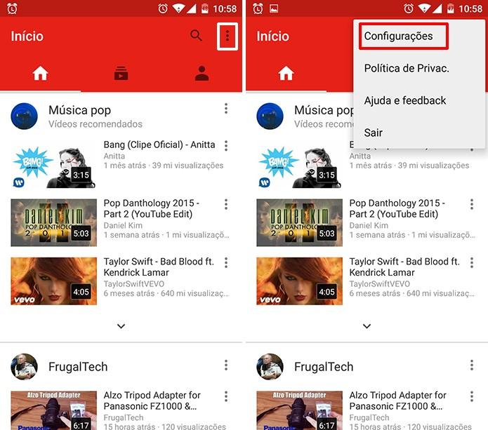 5bba02012 YouTube pode ter consumo de dados diminuído em redes 3G e acelerar  carregamento (Foto