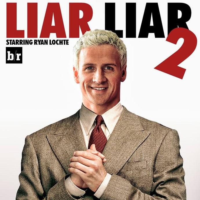 Ryan Lochte - Liar - Mentiroso (Foto: Reprodução/Facebook)