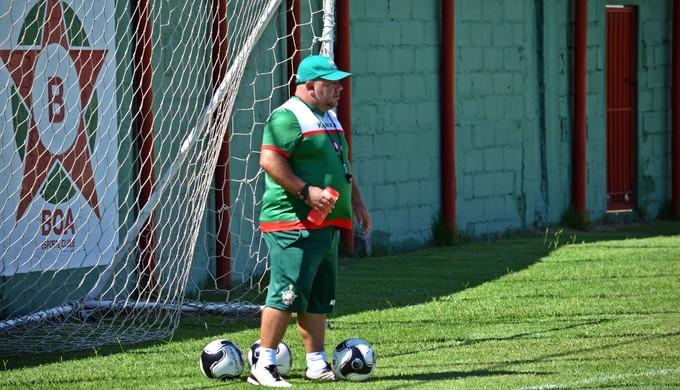 Julinho Camargo técnico Boa Esporte (Foto: Régis Melo)