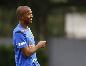 Victor Andrade treino Santos (Foto: Ricardo Saibun/Divulgação Santos FC)
