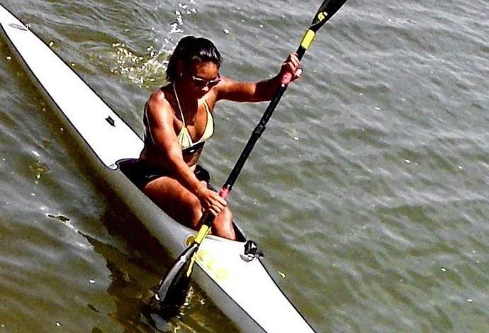 Cinara Camargo - seleção brasileira (Foto: Reprodução/Facebook)