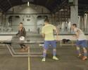 Casquinha na mesa faz Neymar perder desafio de Fut Toc para parça